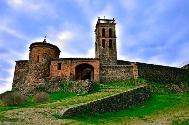 seis comarcas,seis monumentos Mezquita de Almonaster La Real