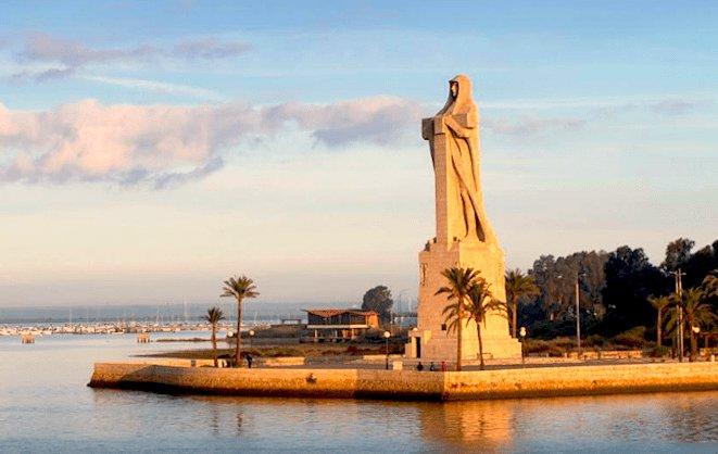 seis comarcas, seis monumentos