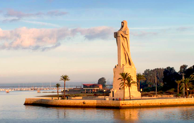 Monumento a Colon Huelva