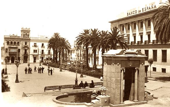 Plaza de las Monjas huelva fuente