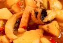Receta papas con choco de Huelva