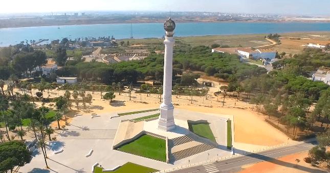 Alrededores Monasterio de la Rábida en Huelva