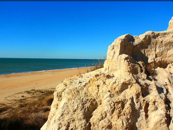 monumentos naturales de Huelva