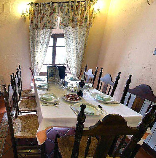 donde comer en Sierra de Aracena
