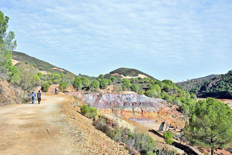 planes para celebrar el día del turismo. ruta de lo molinos. andévalo