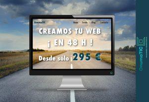 OnumaTIC diseño web y posicionamiento SEO Huelva