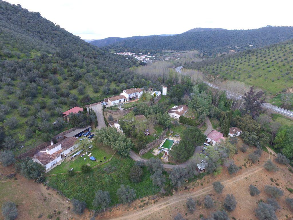 8 casas rurales en la sierra de huelva