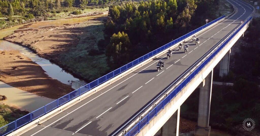 Rutas en moto por Huelva