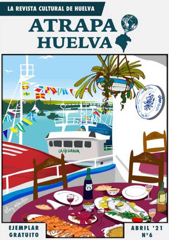 Portada revista Atrapa Huelva abril 2021